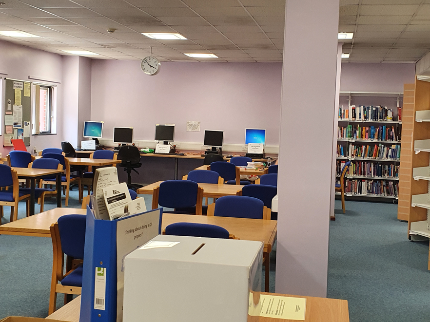 Ipswich Hospital Library picture